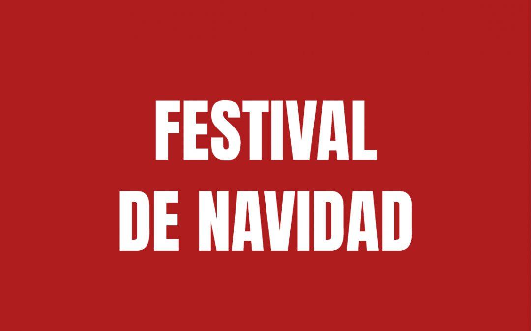 Festival de navidad 21/12