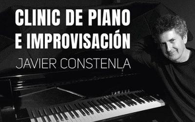 Clinic piano e improvisación – Javier Constenla – 25/02 – 19:30h – Centro Cívico